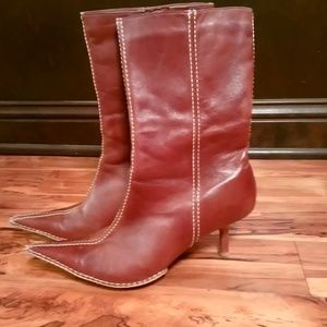 Amazingly beautiful mid calf boots